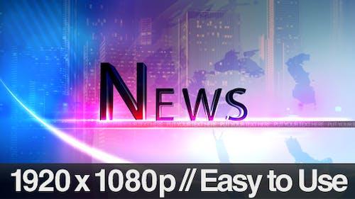 Television News Segment Bumpers