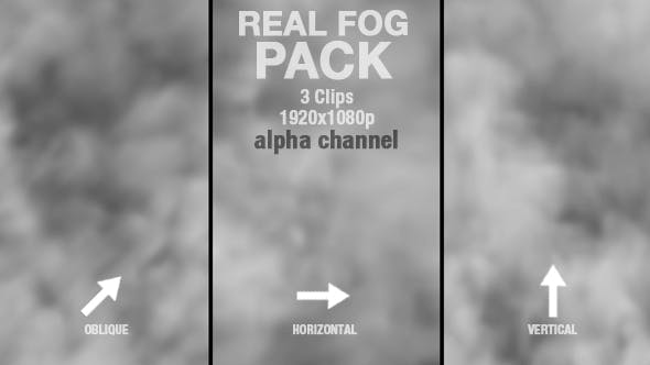 Thumbnail for Real Fog or Smoke PACK