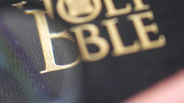 Thumbnail for Looking for Holy Bible with Magnifying Glass