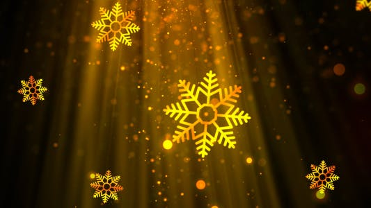Thumbnail for Christmas Heavenly Snowflakes 3