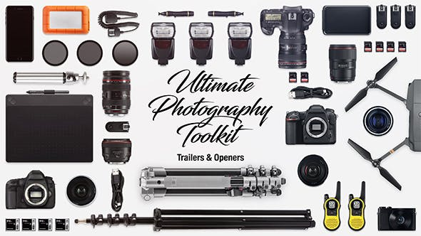 Thumbnail for Ultimate Photography Toolkit Trailers & Openers
