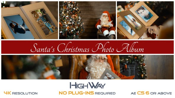 Santa's Christmas Photo Album