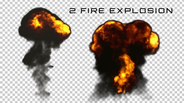 Thumbnail for 2 Fire Explosion Animation