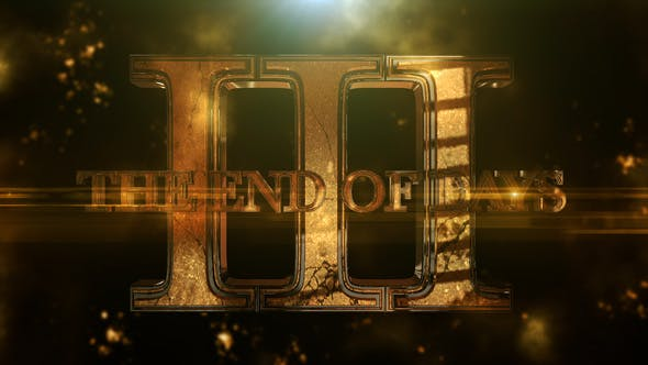 Thumbnail for The End Of Days 3 - Element 3D Titles