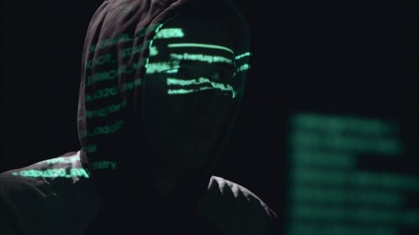 Thumbnail for Spy Is Hacking the Site of Cyberpolicy. Black Background