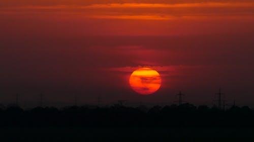 Crimson Sunset.