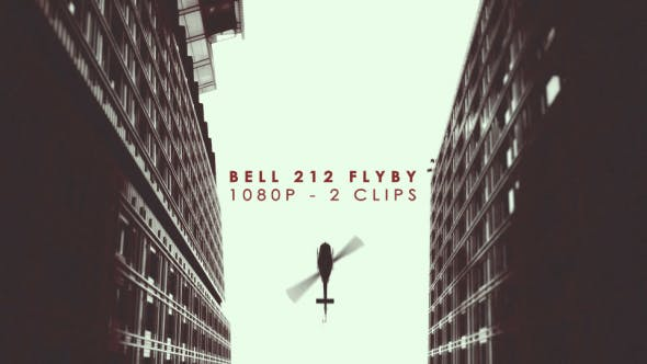 Thumbnail for Bell12 Helicopter Flyby