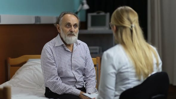 Thumbnail for Caring Doctor Telling Bad News To the Patient