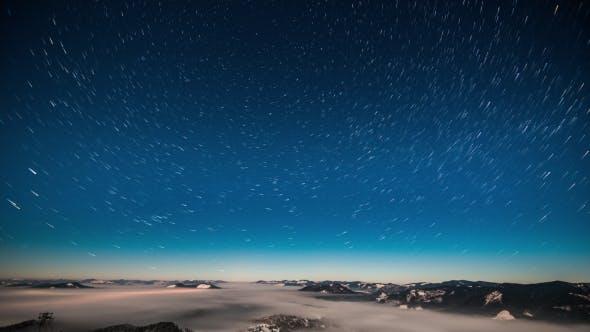 Thumbnail for 8K Milky Way  in Carpathian Mountains