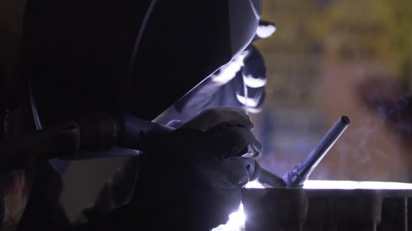 Thumbnail for Welding of the Aluminium in Motorcycle Garage Repear