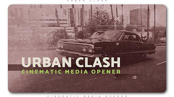 Cover Image for Urban Clash Cinematic Media Opener