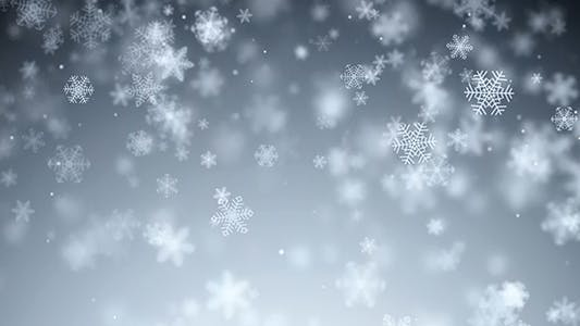 Thumbnail for Flying Snowflakes