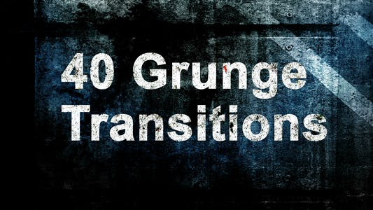 Thumbnail for Grunge Transitions And Overlays