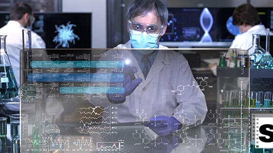Thumbnail for Scientists Working In The Lab