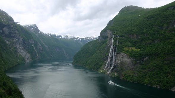 Thumbnail for Breathtaking View of Sunnylvsfjorden Fjord