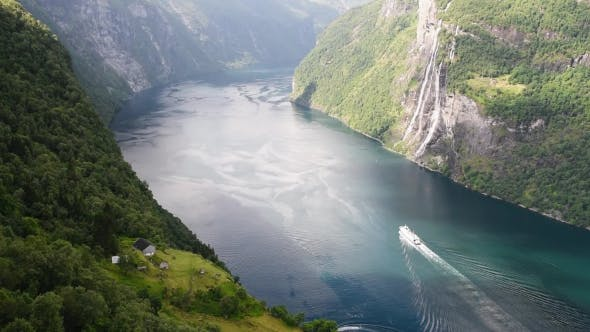 Thumbnail for Breathtaking View of Sunnylvsfjorden Fjord