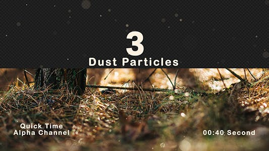 Thumbnail for Dust Particles Flying Random