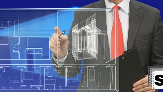 Cover Image for Architect Using Screen