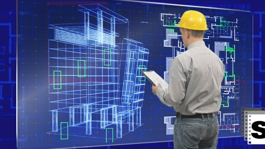 Thumbnail for Builder Using futuristic Screen