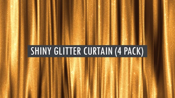 Thumbnail for Wavy Glitter Curtain Seamlessly Loop-able Background Pack 1