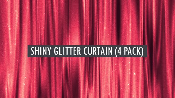 Thumbnail for Wavy Glitter Curtain Seamlessly Loop-able Background Pack 2