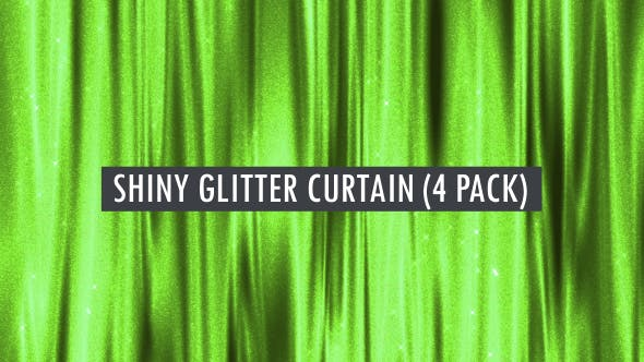 Thumbnail for Wavy Glitter Curtain Seamlessly Loop-able Background Pack 3