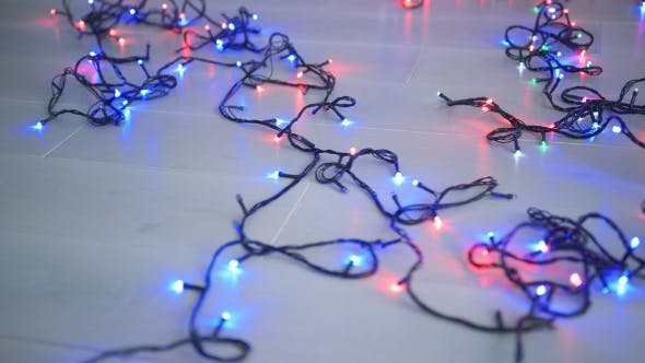 Cover Image for Lighting Garland on Floor