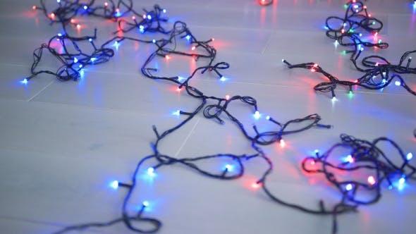 Thumbnail for Lighting Garland on Floor