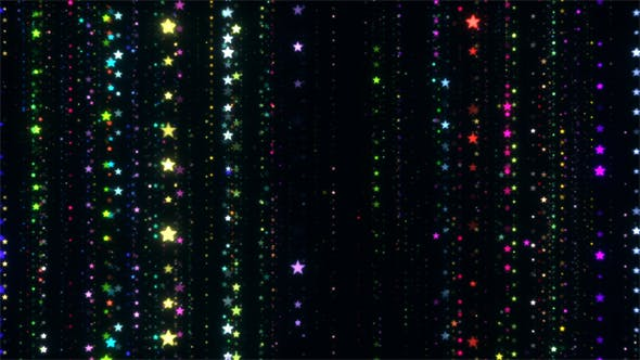 Cover Image for Shimmering Colorful Stars