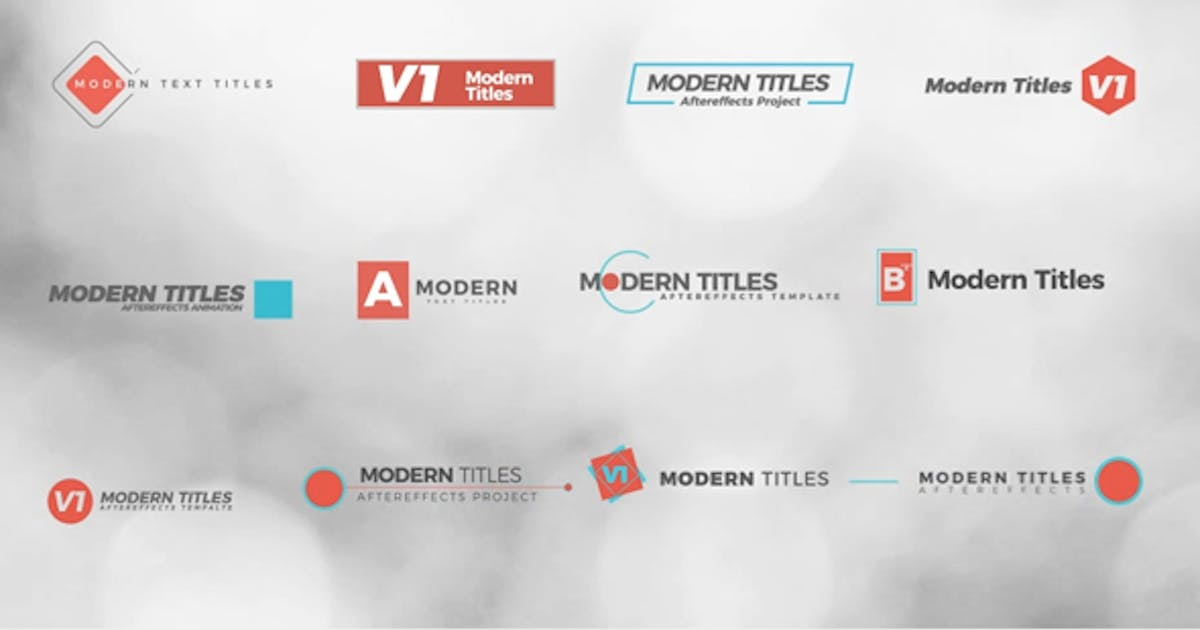 Download Modern Titles by Renname