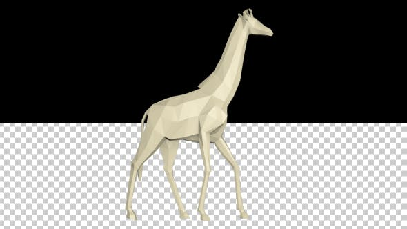Thumbnail for Low Poly 3d Giraffe