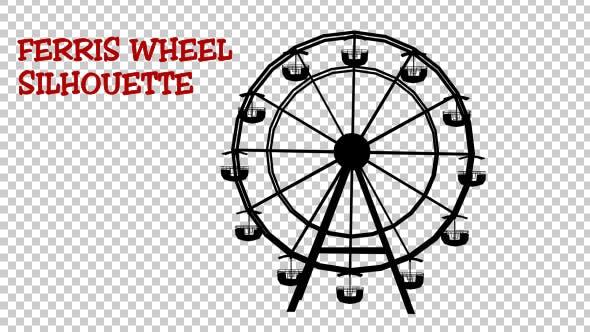 Thumbnail for Ferris Wheel Silhouette