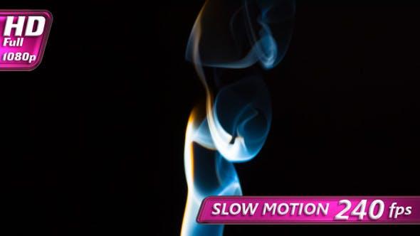 Thumbnail for Elegant Flow of Multicolor Smoke