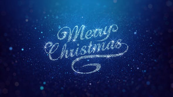Thumbnail for Blue Merry Christmas Greeting