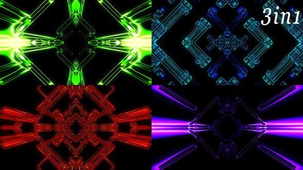 Thumbnail for Liquid Ray - VJ Loop Pack (3in1)