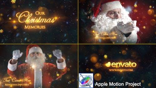 Christmas Memories Slideshow - Apple Motion