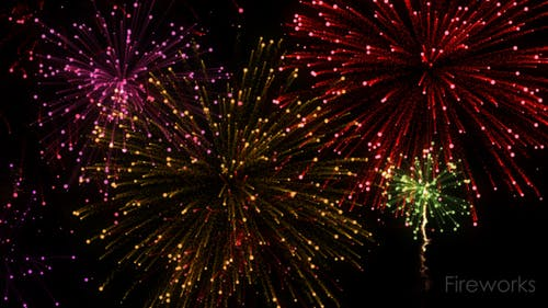 Feuerwerks-Festivalelement
