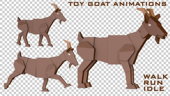 Thumbnail for Goat Toy Animations