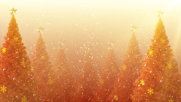 Thumbnail for Christmas Tree Glow Glitter Dust
