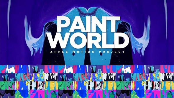 Mundo de pintura