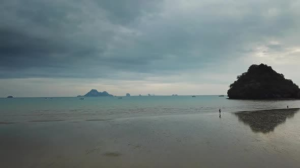 Thumbnail for Calm Shallow Beach with Reflections in Thailand
