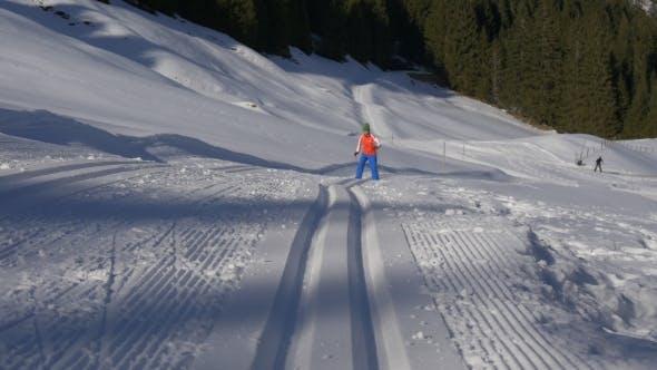 Thumbnail for Cross-country Skiing Furrow