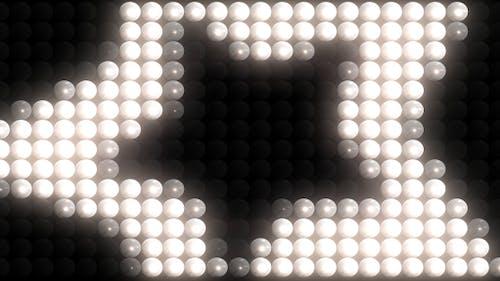 Glühbirne blinkende Lichter
