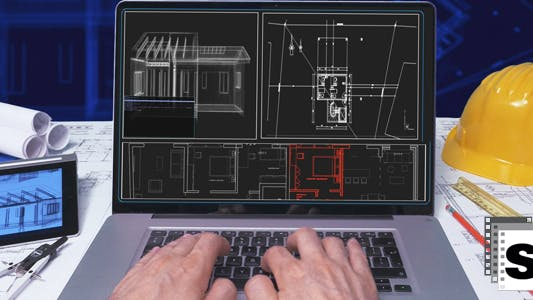 Thumbnail for Architect Using Laptop