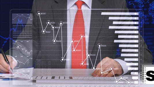 Thumbnail for Business Charts In Office