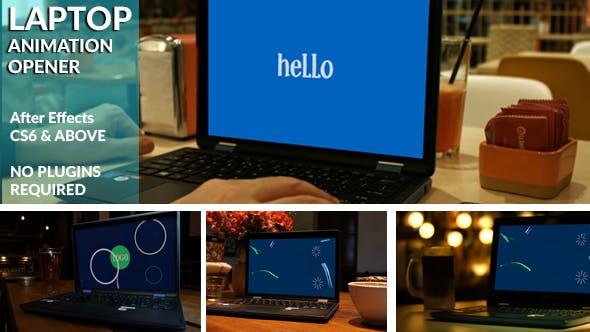 Animated Laptop Opener