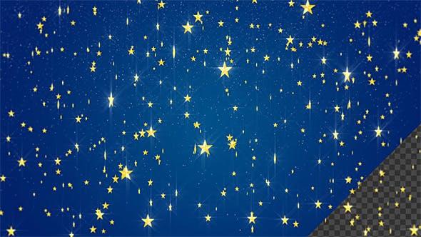 Twinkle Stars Background