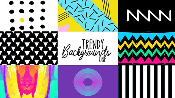Trendy Backgrounds 1