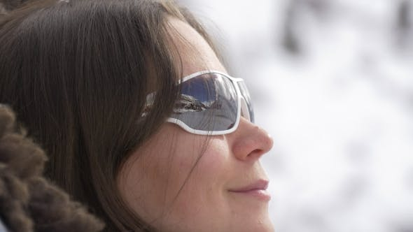 Thumbnail for Reflection of Mountains in Sunglasses