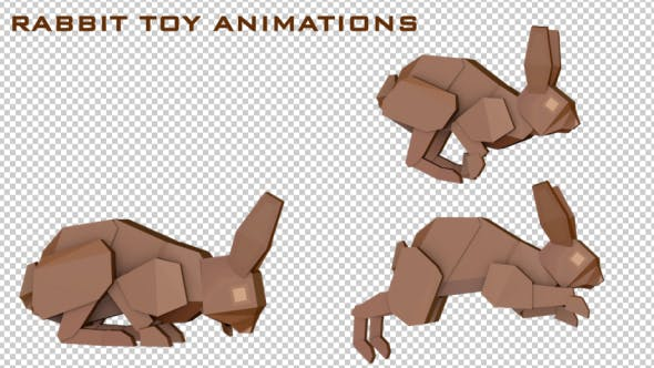 Thumbnail for Rabbit Toy Animations